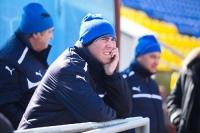 Александр Тихоновецкий наблюдает за тренировкой