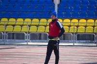 Руслан Корян перед подачей углового