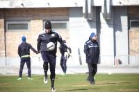 Александр Котляров занимался вместе с полевыми игроками