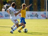 Владимир Михалев в матче с Уралом