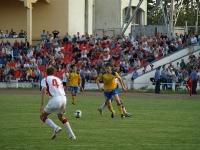С мячом Виталий Казанцев