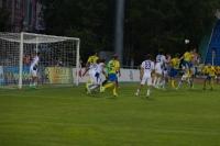 Гузь посылает второй мяч в сетку ворот Нигматулина