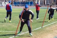 Руслан Корян - тренировался наравне со всеми