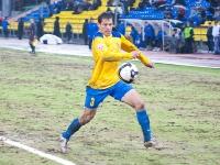 С мячом Эдуард Сахневич