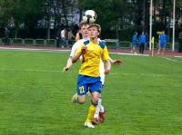 С мячом Артем Михеев