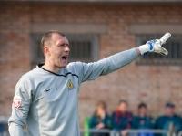 На фото вратарь Андрей Чичкин