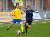 На фото с мячом Павел Смуров