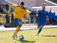 Очередная попытка Юрия Роденкова открыть счет в матче