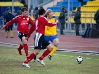 Александр Данцев нередко поддерживал атаки Луча-Энергии